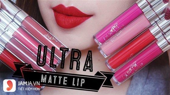 ColourPop Ultra Matte Lip màu Bumble 4