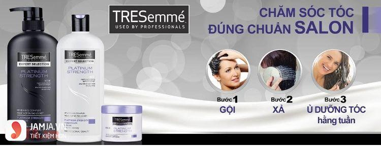 Dầu  TRESemmé platinum strength