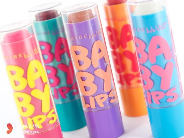 son dưỡng Maybelline's Baby Lips balms