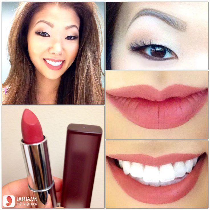 Maybelline Creamy Matte– Touch of spice 1