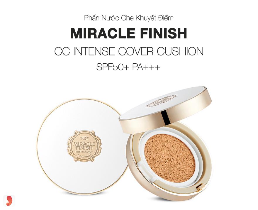 Phấn nước che khuyết điểm Miracle Finish CC Intense Cover Cushion - 1