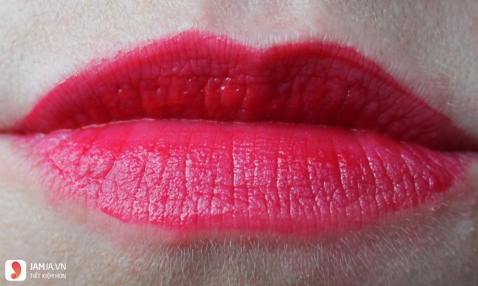 Review sonkem Bourjois Rouge Edition Souffle de Velvet màu 07