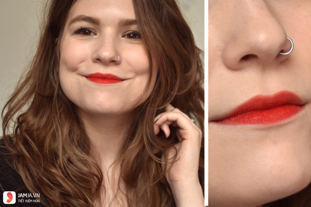 Review sonkem Bourjois Rouge Edition Velvet màu 03
