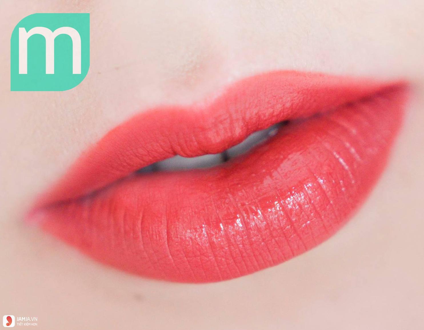 Review sonkem Bourjois Rouge Edition Velvet màu 12