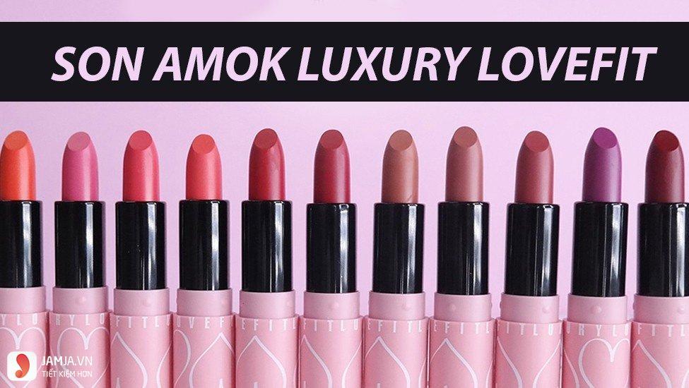 SonAmok Luxury Lovefit màu hồng đất S316 Soul Mate 3