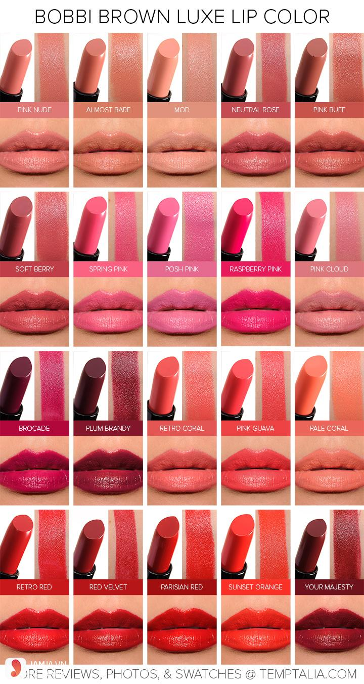 Son Bobbi Brown Luxe Lip Color 4