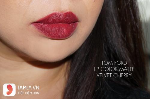 Son Tom Ford Lip Color Mattte màu Velvet Cherry