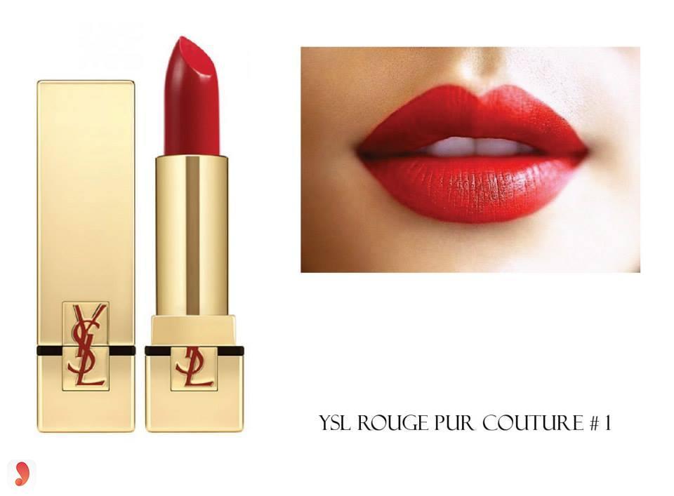 Son YSL Rouge Pur Couture Mats màu Le Rouge