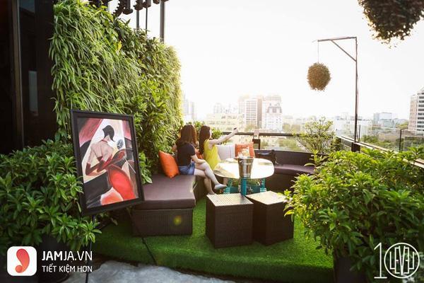 Terrace café - không gian ngoài trời
