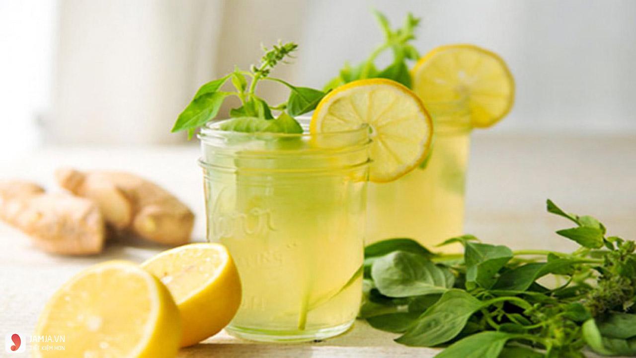 Uống nước chanh vào buổi tối có tác dụng gì