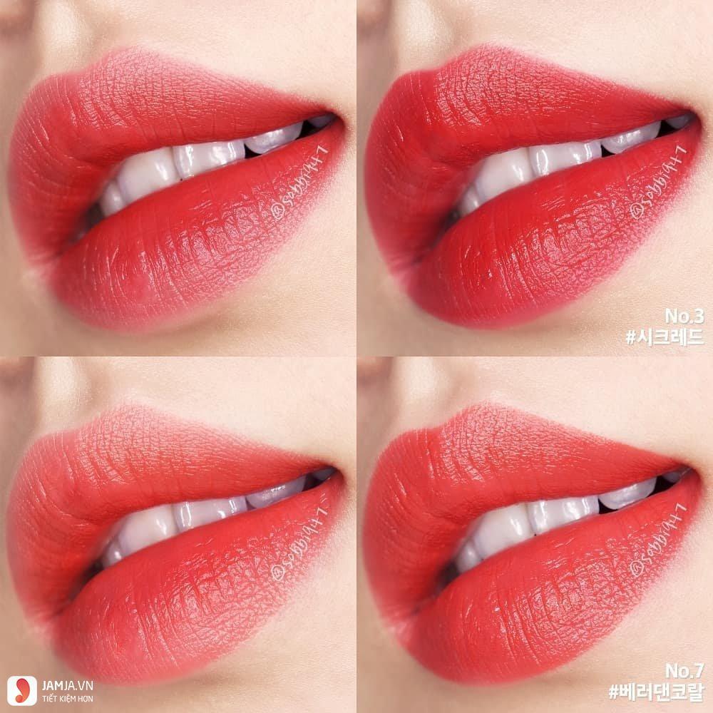 Bảng màu sonMamonde Creamy Tint Squeeze Lip 5