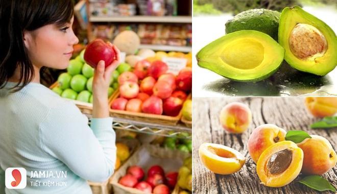 cách chọn trái cây làm trái cây xô