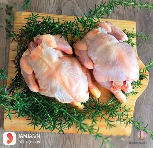 cách làm gà hấp nước mắm nhĩ 2