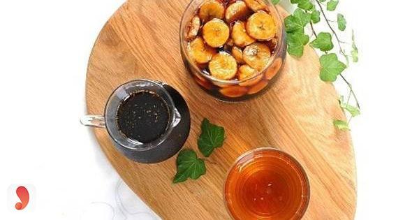 Cách làm giấm bằng chuối và nước dừa5