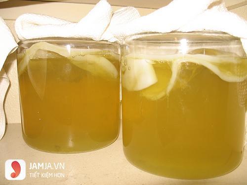 cách làm giấm bằng chuối và nước đừa