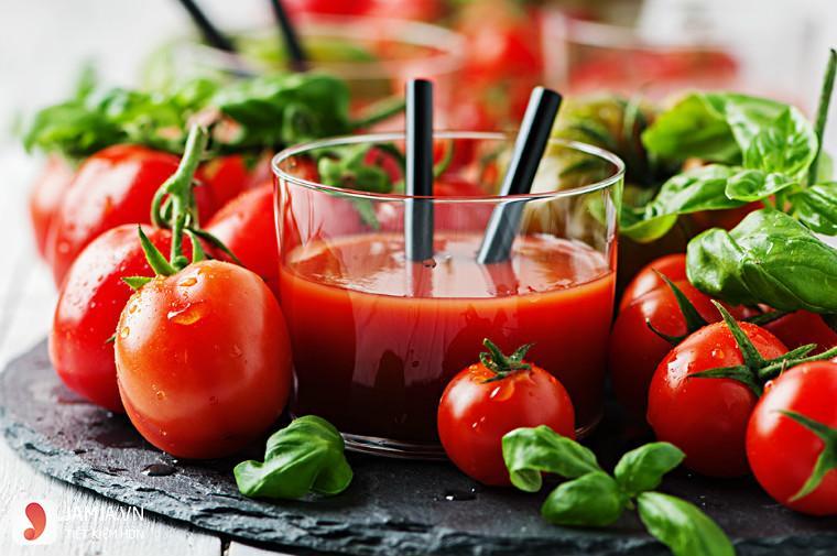 cách làm nước ép cà chua đơn giản dễ dàng tại nhà