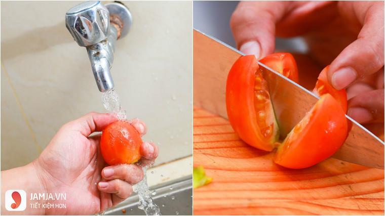 cách làm nước ép cà chua