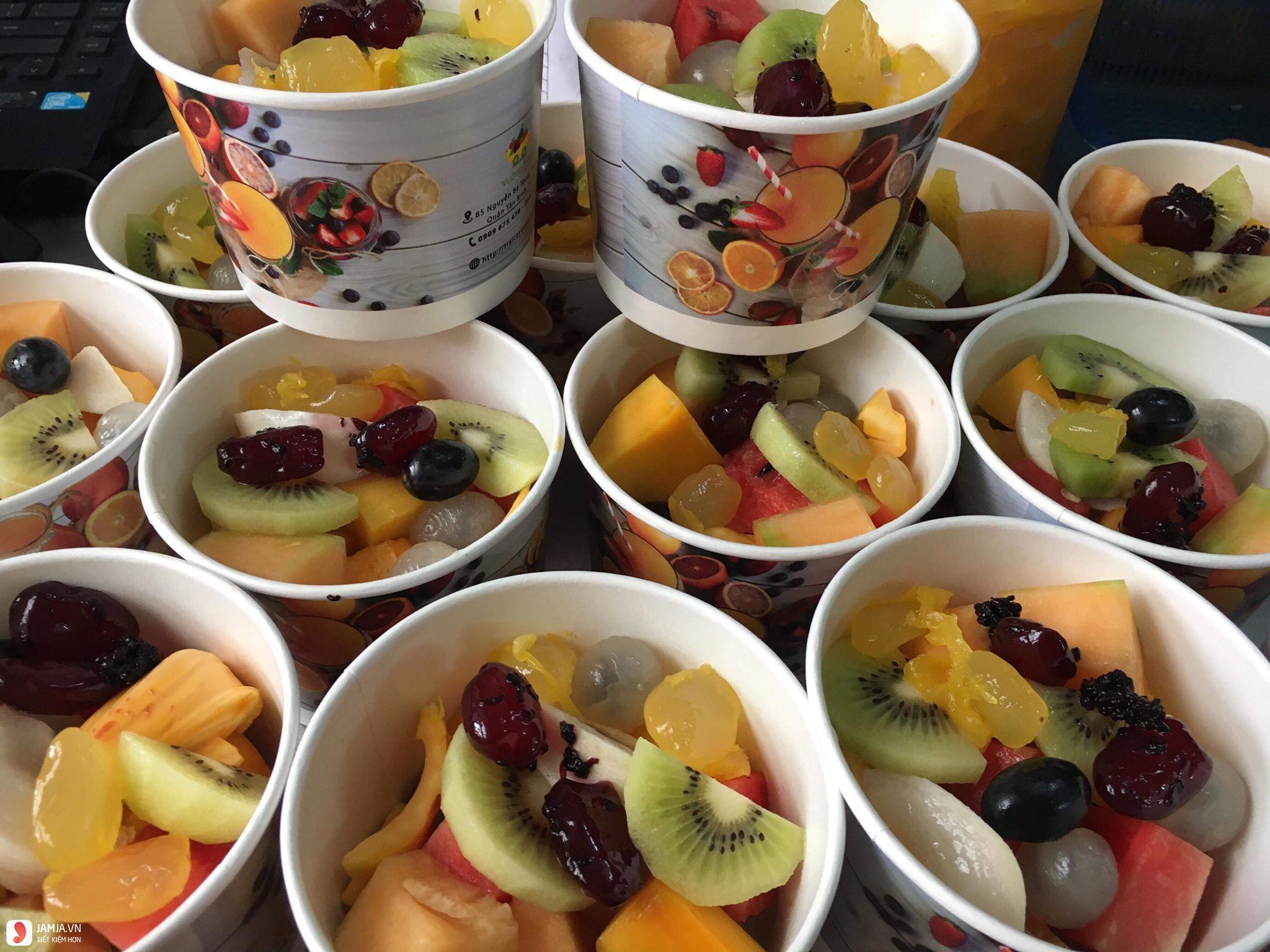 Cách làm trái cây xô 5