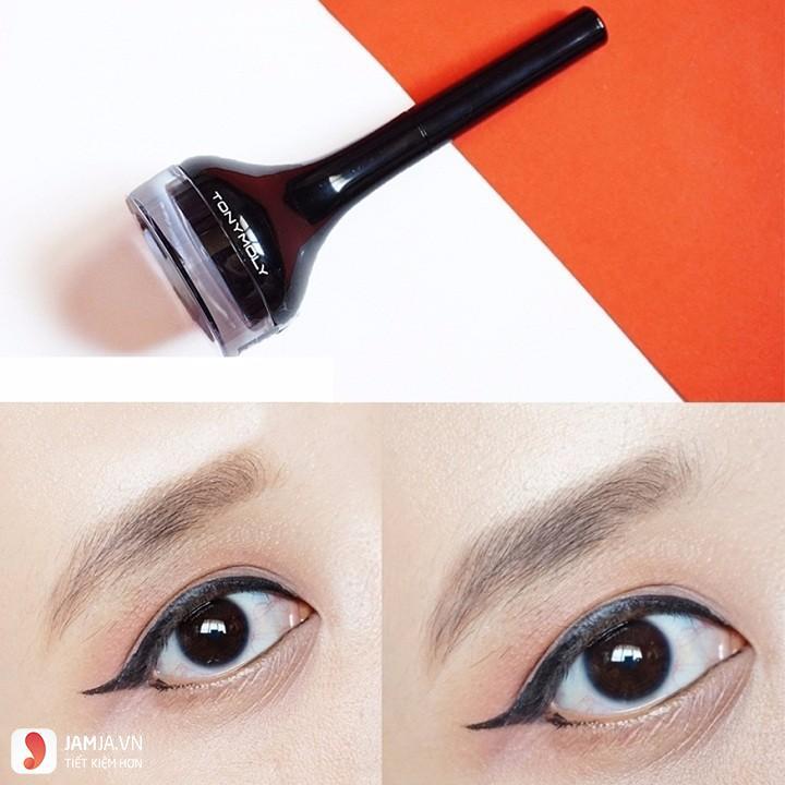 Cách sử dụnggel kẻ mắt Tonymoly Backstage Gel Eyeliner 3