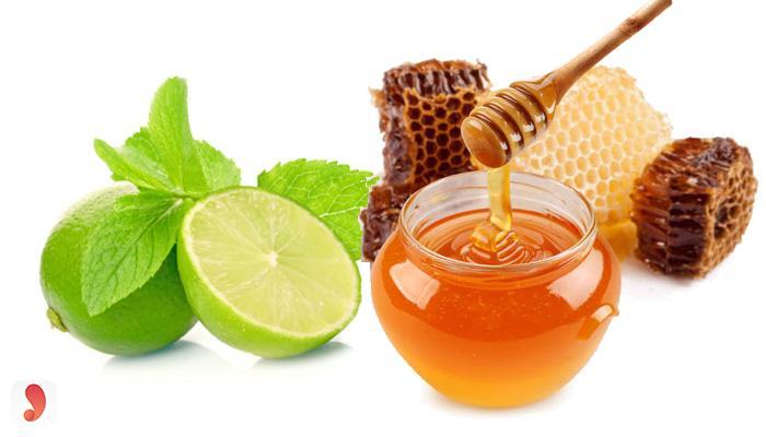 Trị mụn hiệu quả nhanh bằng chanh và mật ong