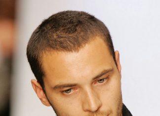 cắt tóc đầu đinh cho nam