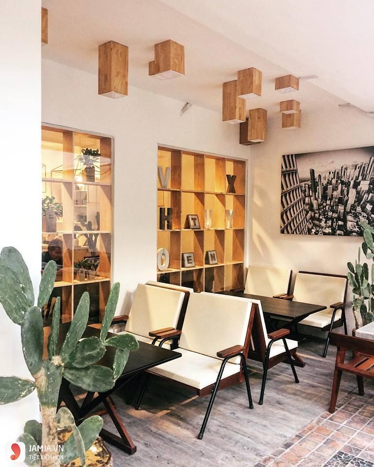 không gian Chanchamayo , quán cafe view đẹp ở sài gòn
