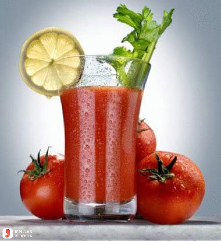 Tác dụng của nước ép cà chua