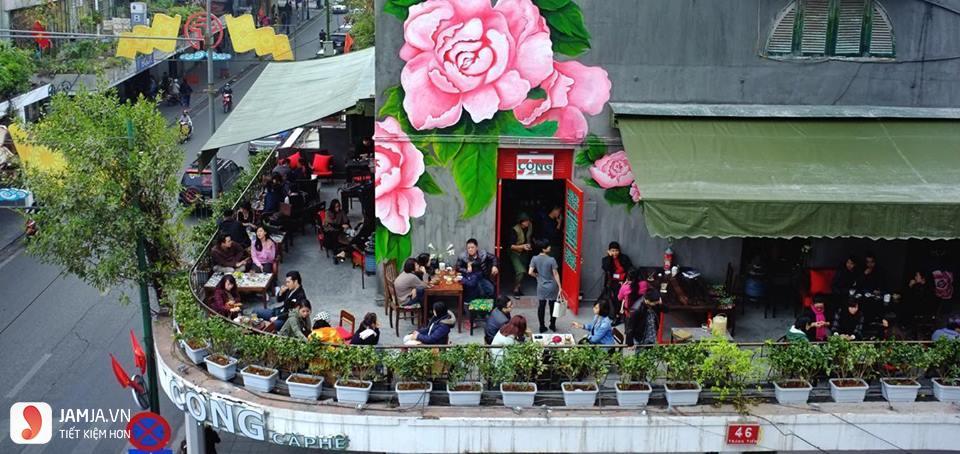 Cafe Cộng Tràng Tiền