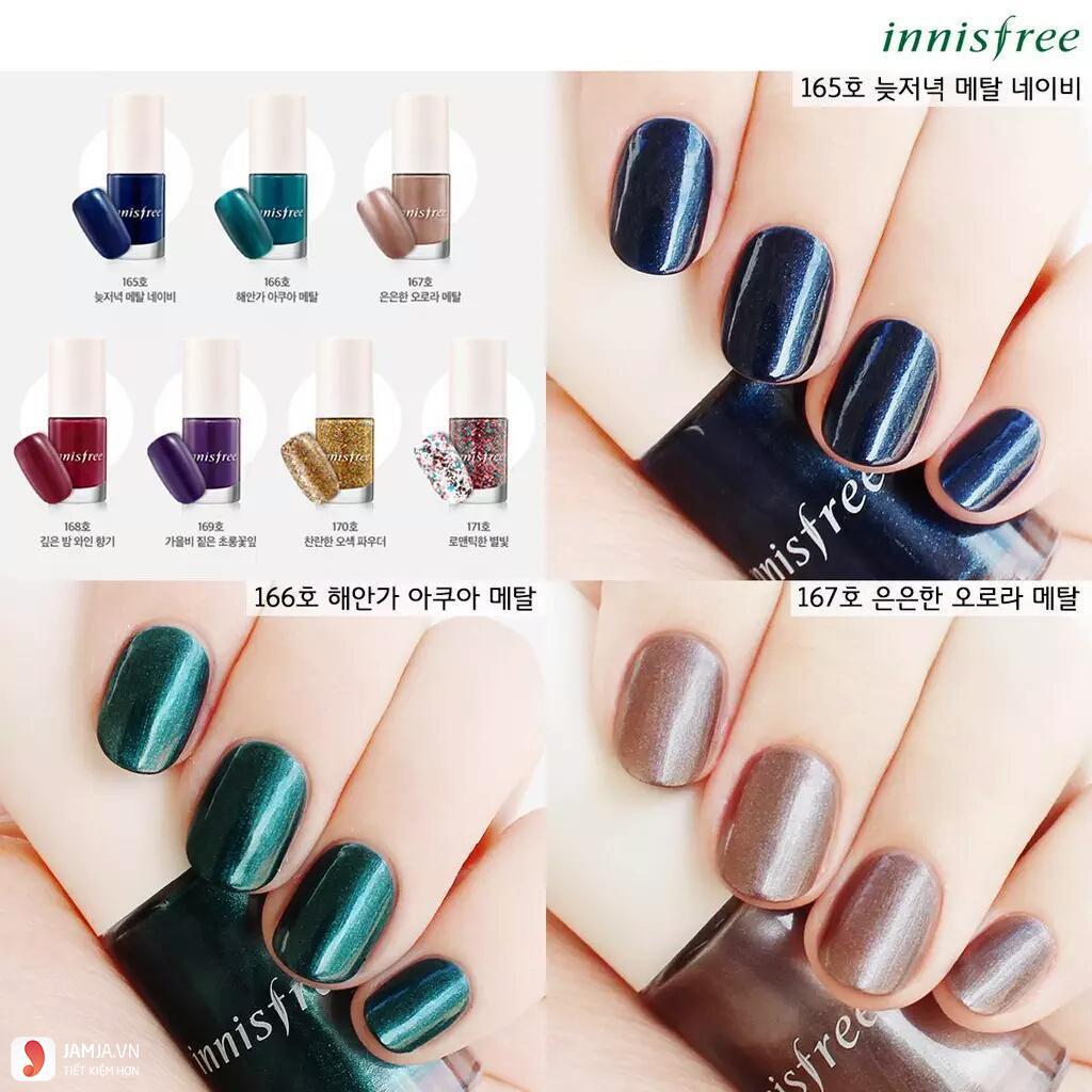 Hướng dẫn sử dụng sơn móng tay Innisfree Eco Nail Color Pro