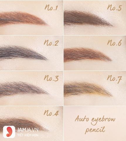 Innisfree Auto Eyebrow Pencil 7