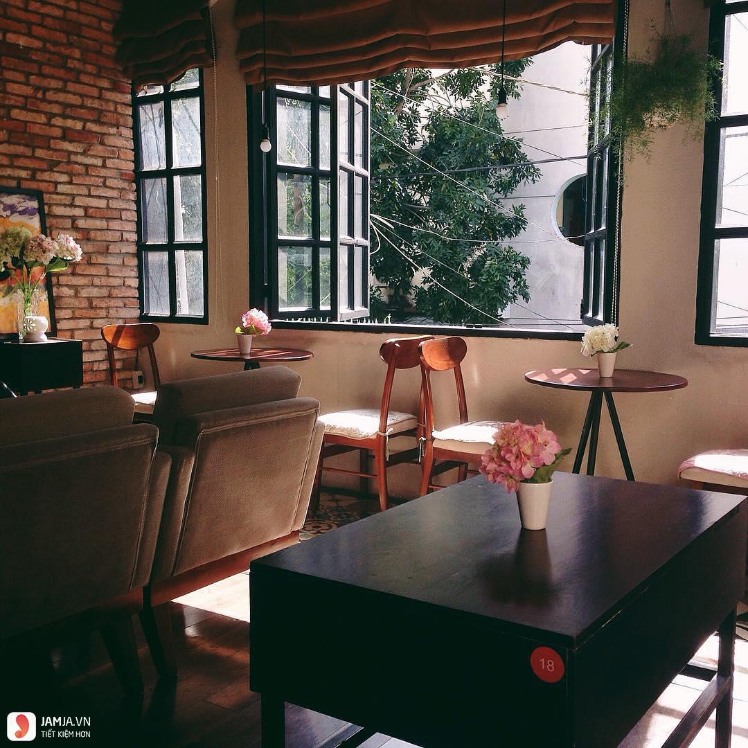 iTune Coffee không gian, quán cafe view đẹp ở sài gòn
