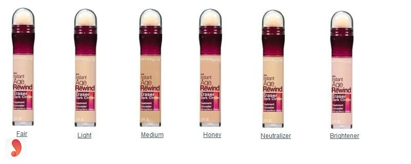 Kem che khuyết điểm Maybelline Instant Age Rewind 1
