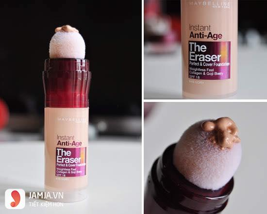 Kem che khuyết điểm Maybelline Instant Age Rewind 3