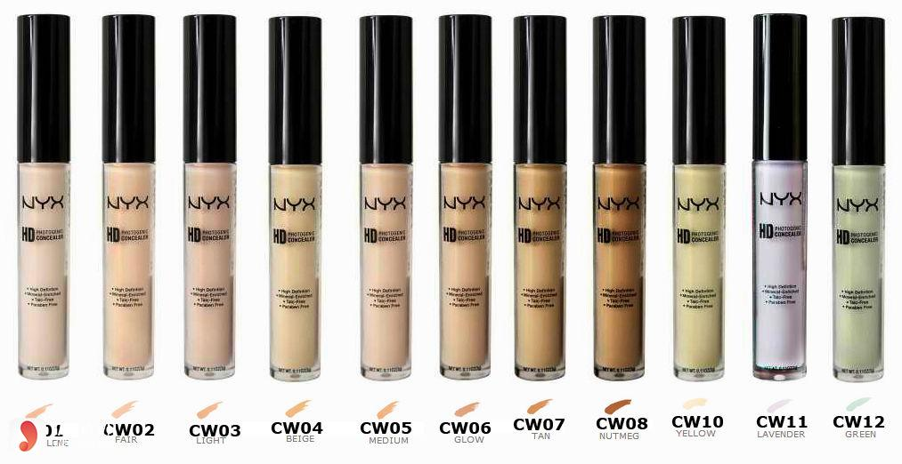 Rieview kem che khuyết điểm NYX HD Photogenic Concealer Wand2
