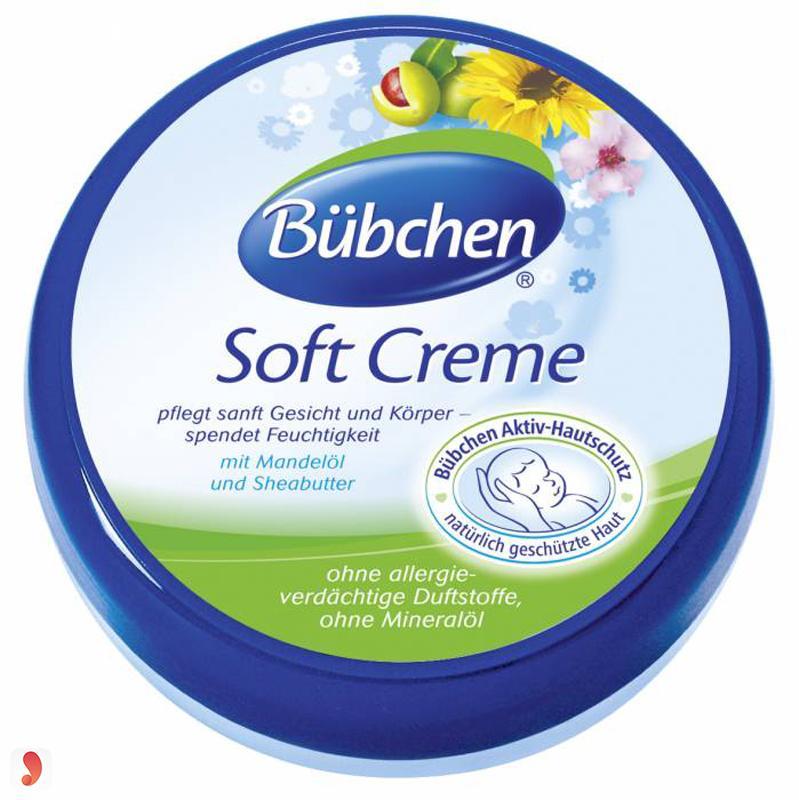 Kem dưỡng da Bubchen cho bé