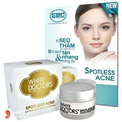 Kem trị thâm mụn White doctor Spotless Acne