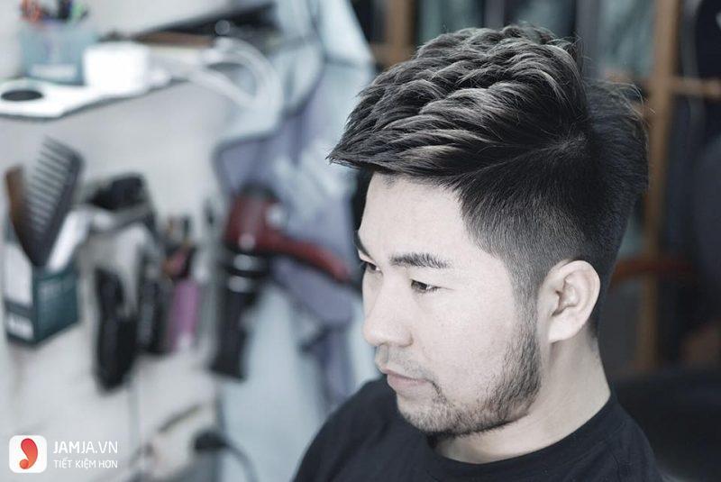kiểu tóc mohican hiện đại