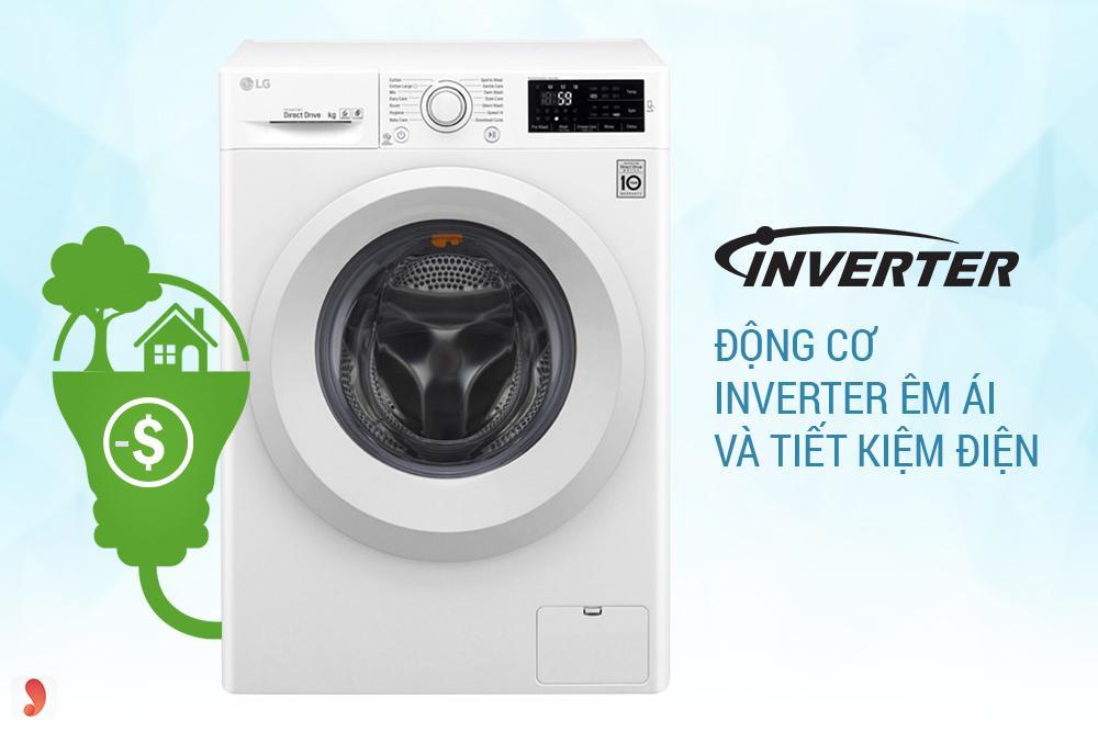 Máy giặt LG Inverter FC1475N5W2