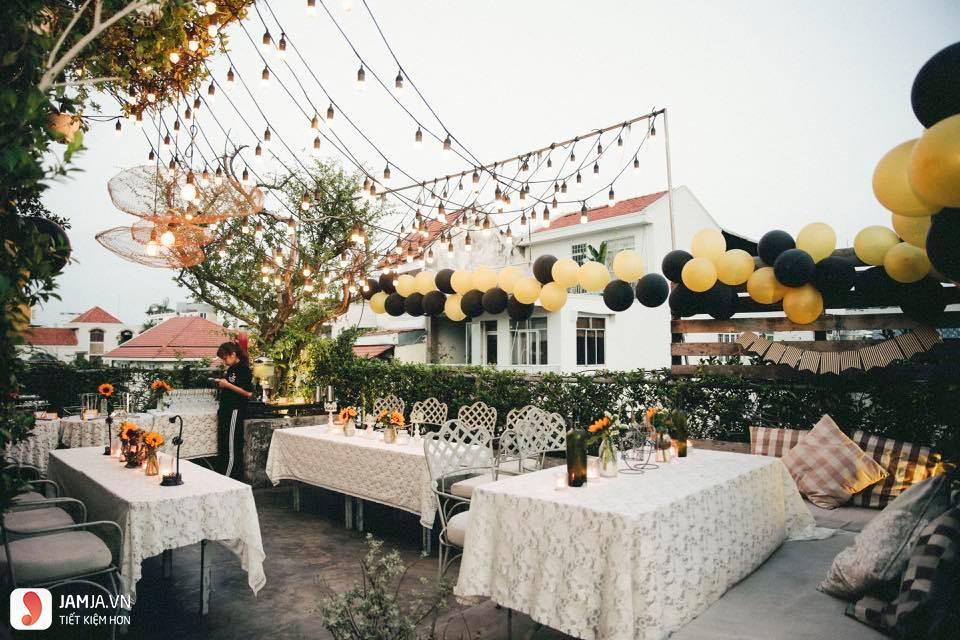 OZ Coffee House 30 Huỳnh Tịnh Của - 1, quán cafe view đẹp ở sài gòn