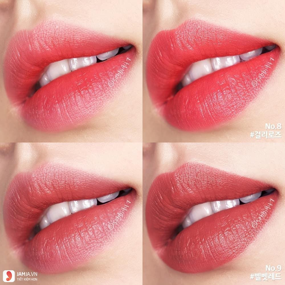 Review chi tiết sonMamonde Creamy Tint Squeeze Lip 5