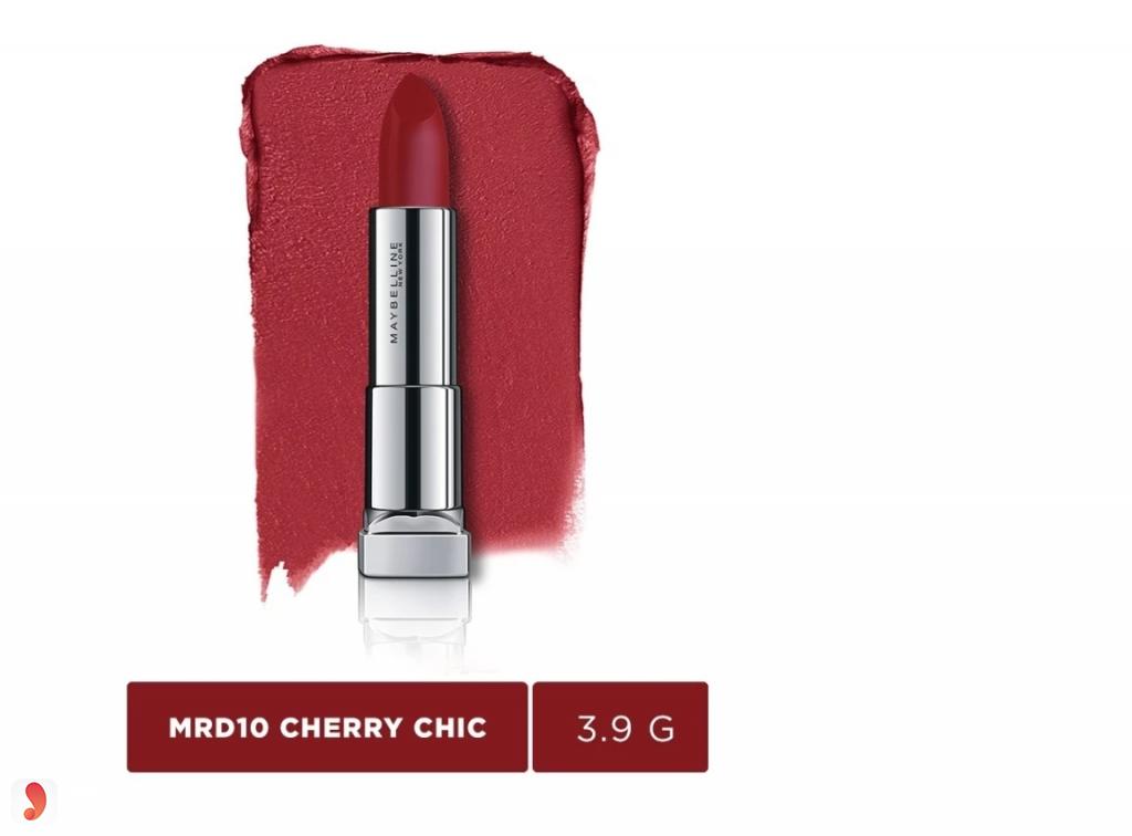 Son Maybelline Color Sensational Powder Matte màu Cherry Chic