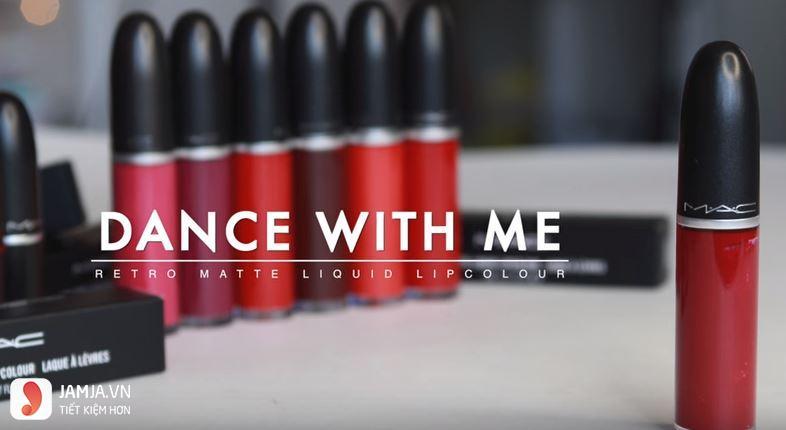 Son kem MAC - Dance with me