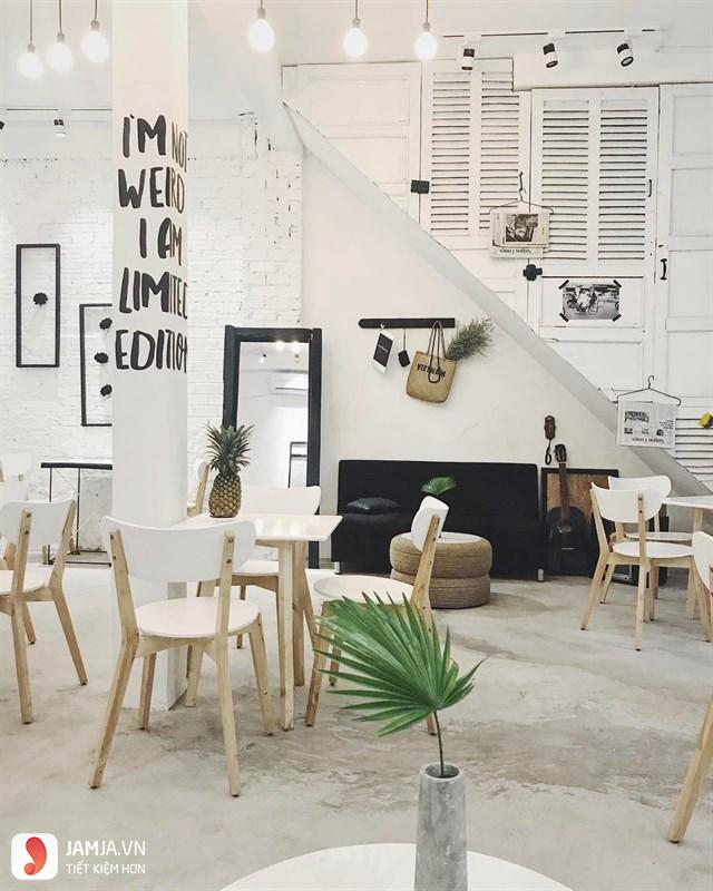 Trang trí ở The Dome Kaffe