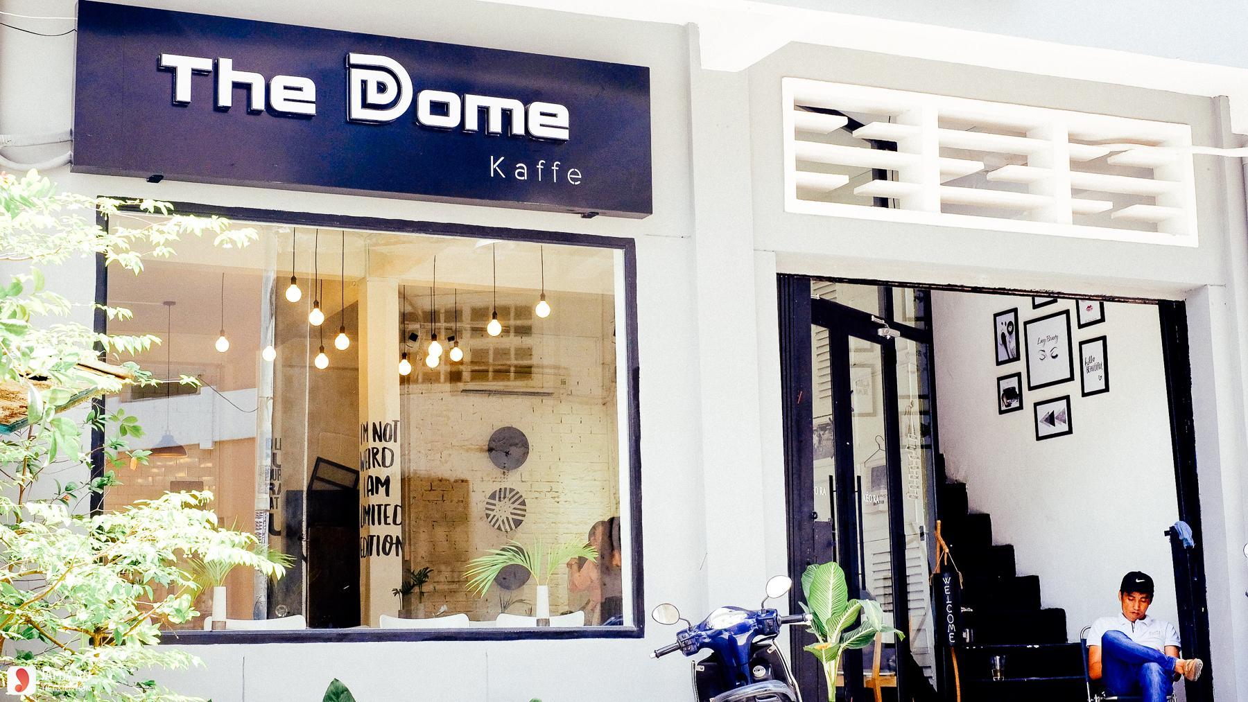 Bên ngoài The Dome Kaffe