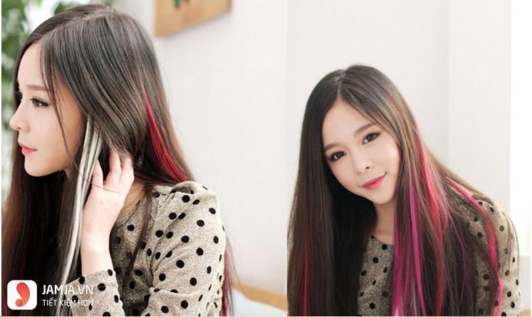 Tóc đen móc lai màu nào đẹp 2