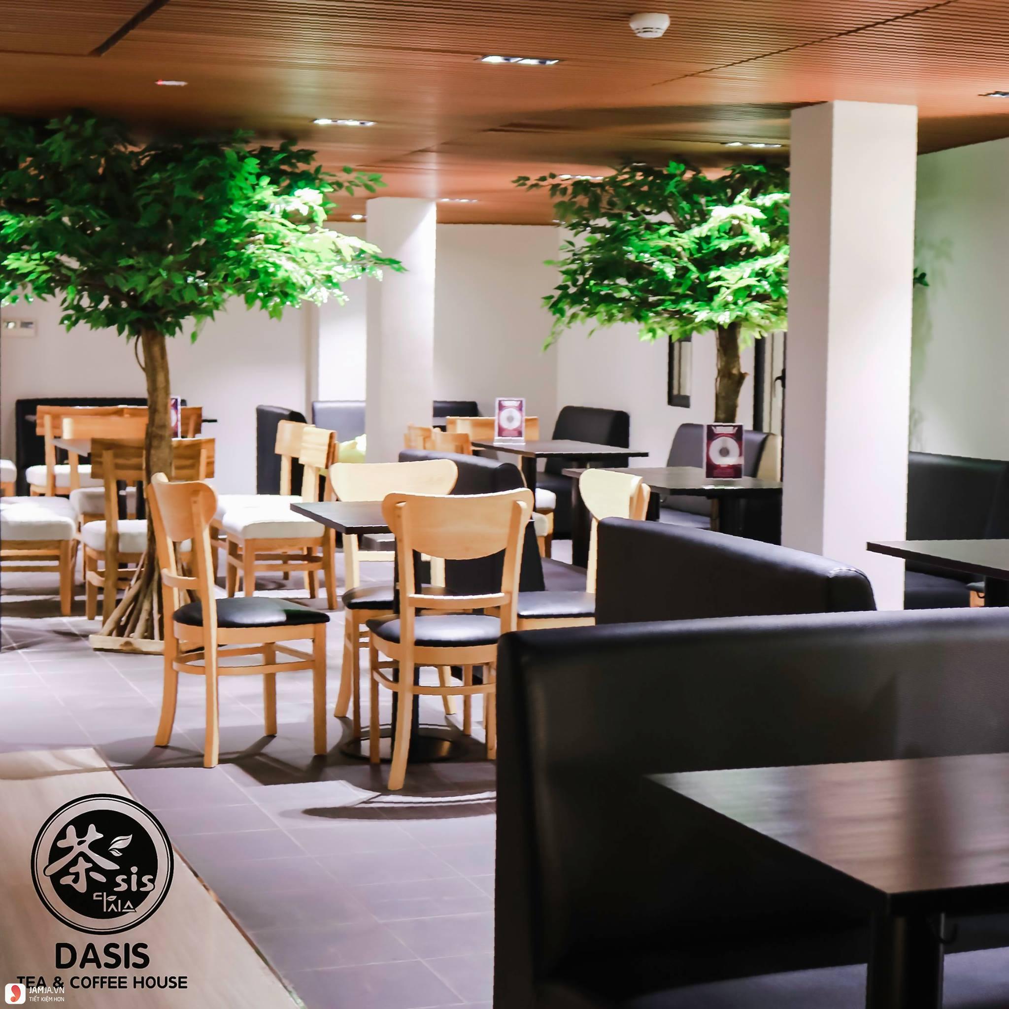 Dasis Tea & Coffee House không gian
