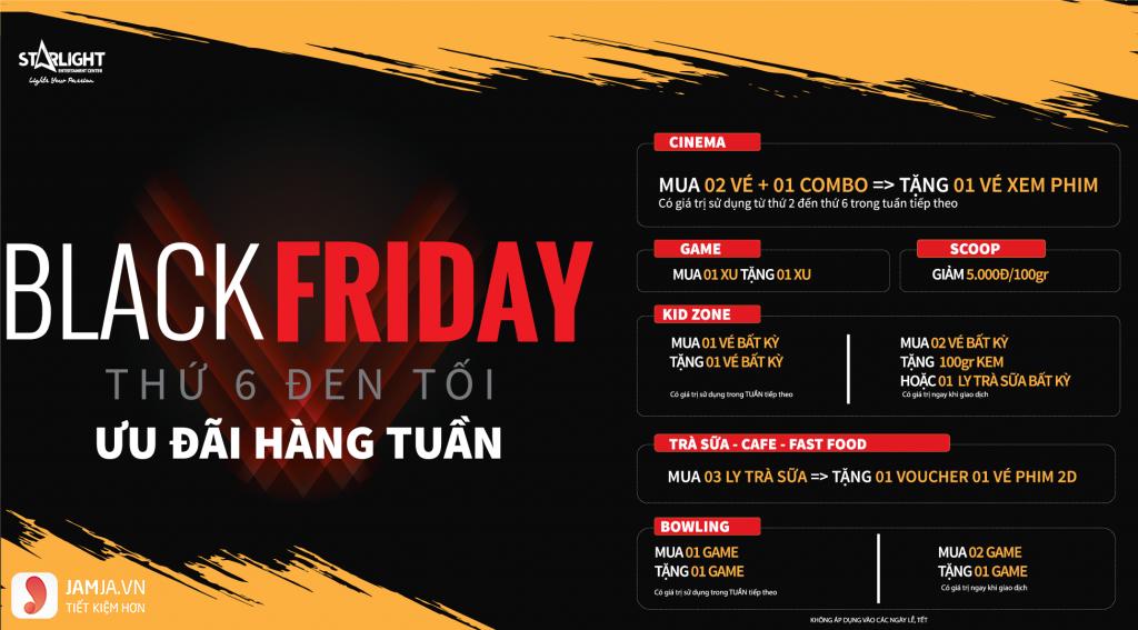 Black Friday StarLight Quy Nhơn