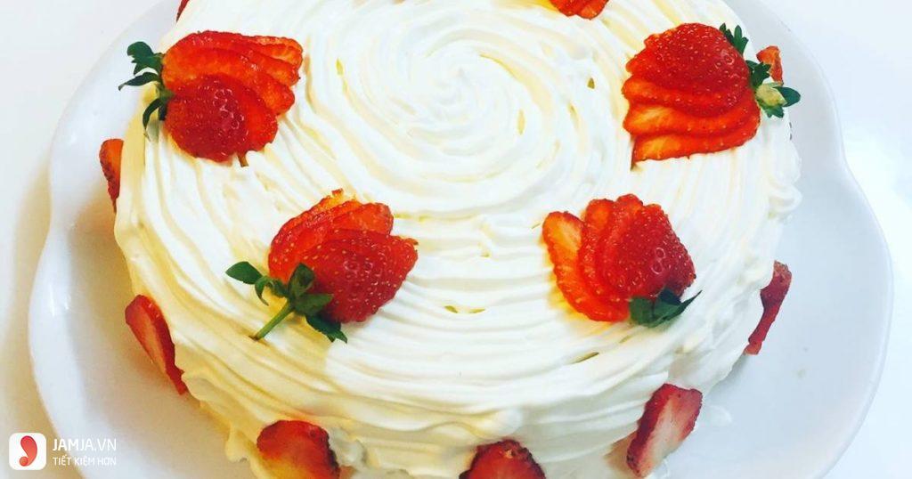 Cách làm bánh sinh nhật không cần lò nướng - 5