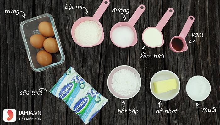cách làm bánh su kem sữa tươi 1