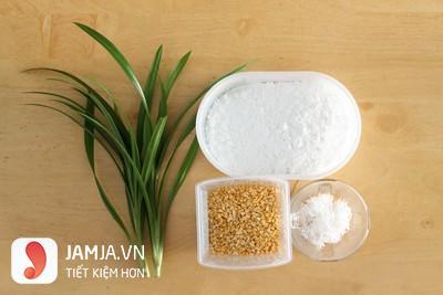 cách làm bánh su sê lá dứa 1